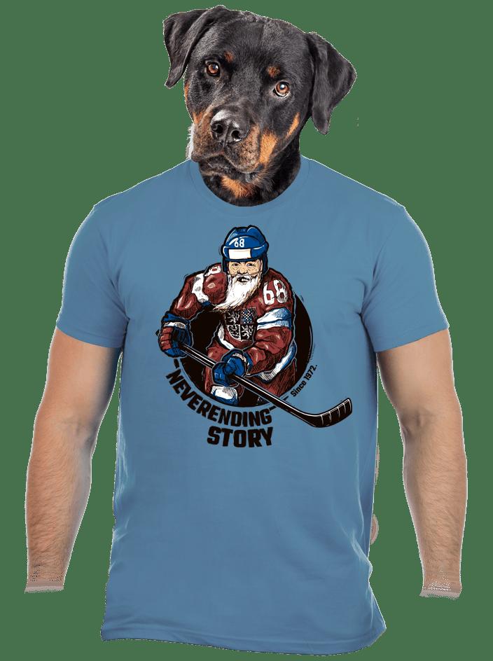 Jarda Forever modré pánské tričko