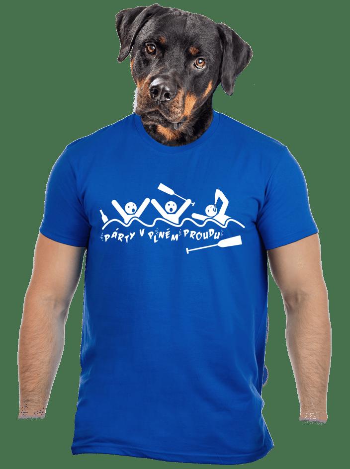Party v plném proudu pánské tričko