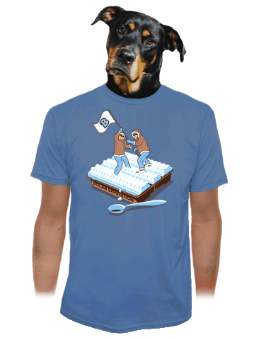 Polární expedice pánské tričko