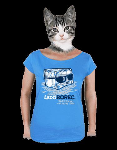 Ledoborec dámské tričko