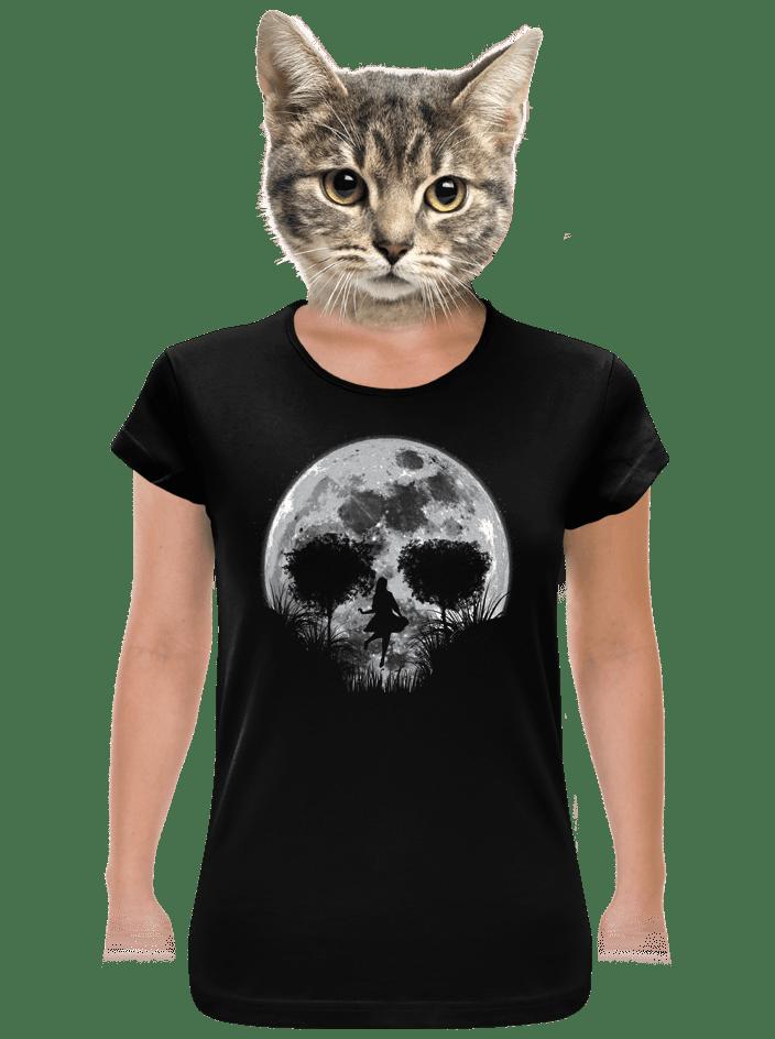 Smrtící úplněk dámské tričko klasik