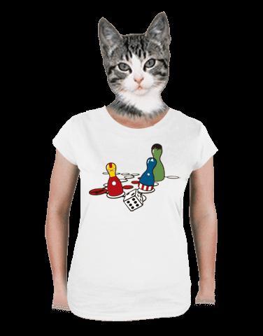 Superhrdino nezlob se dámské tričko