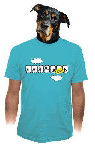 velký náhled - Letadlo pánské tričko