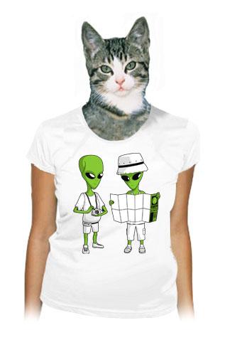 Mimozemšťané dámské tričko