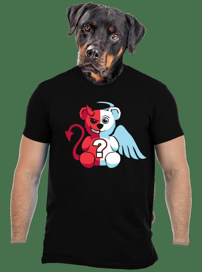 Anděl vs. ďábel pánské tričko