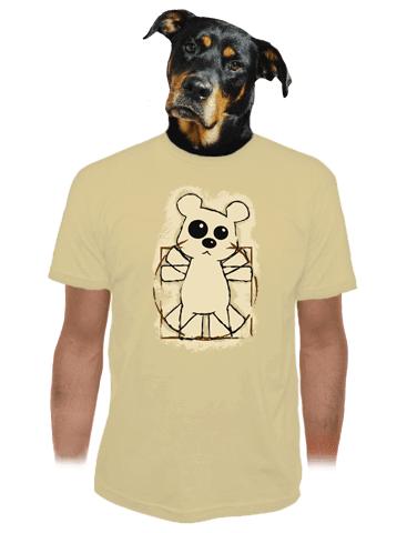 Da Vinci Teddy pánské tričko
