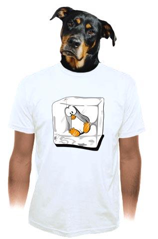 velký náhled - Tučňák pánské tričko