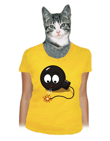 Bomba dámské tričko