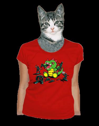Hračky dámské tričko