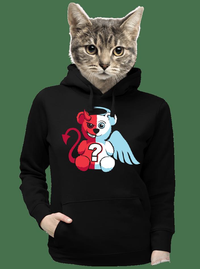 Anděl vs. ďábel dámská mikina