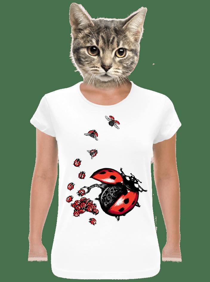 Ladybird Factory bílé dámské