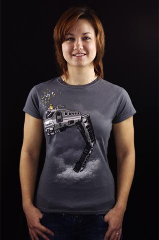Snake Train dámské tričko
