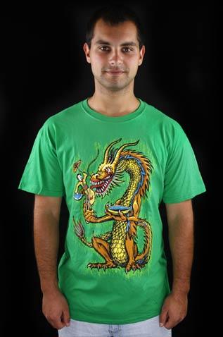 Hungry Dragon zelené pánské