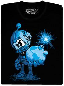 Časovaná bomba pánské tričko