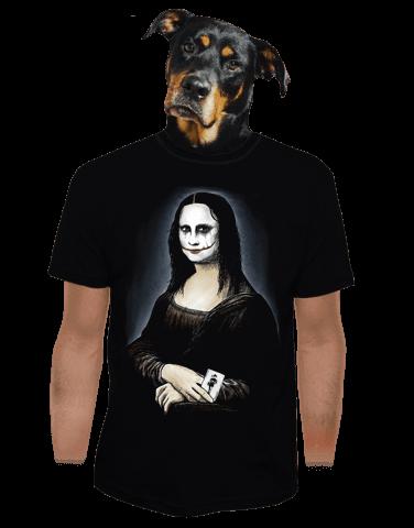 Mona Joker Lisa pánské tričko