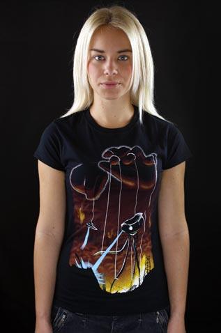 In God's Hands dámské tričko