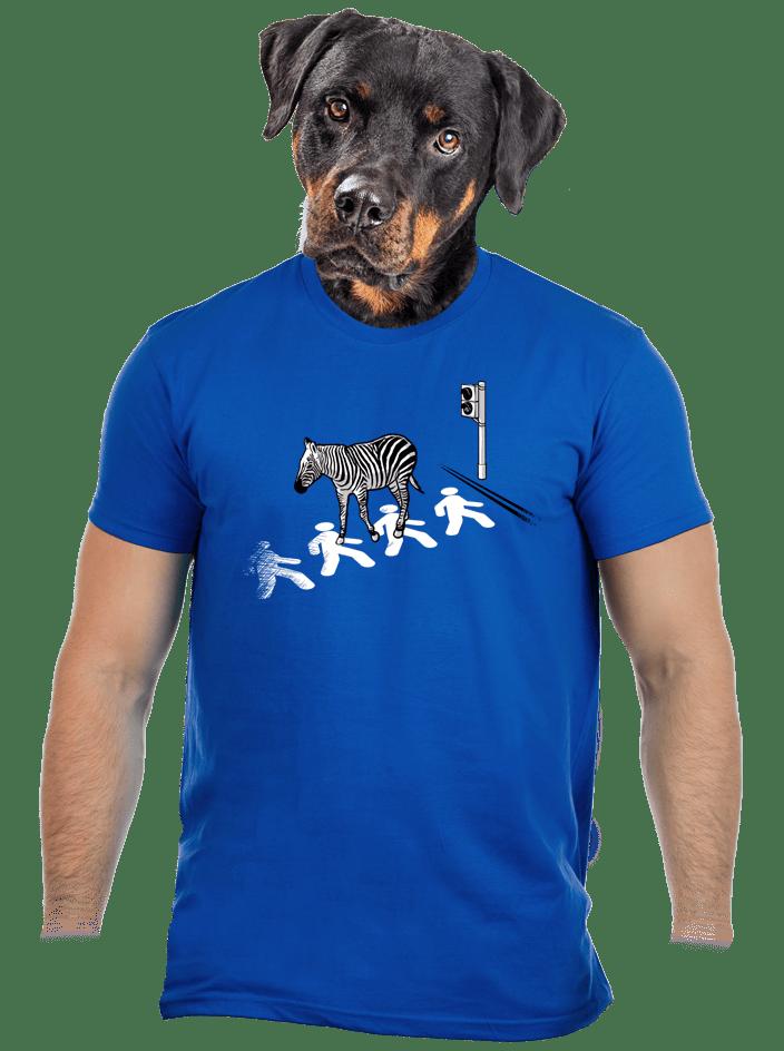 Zebra pánské tričko