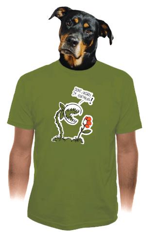 velký náhled - Vegetarián pánské tričko