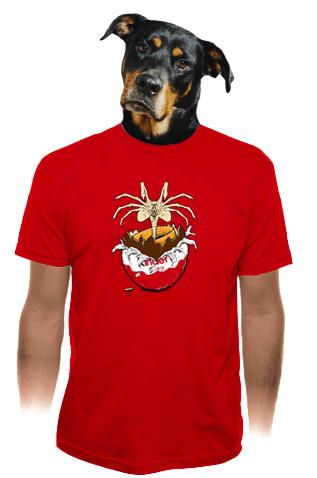 Vejce Vetřelec pánské tričko