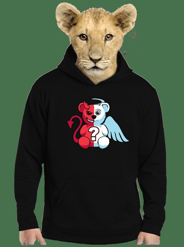 Anděl vs. ďábel dětská mikina