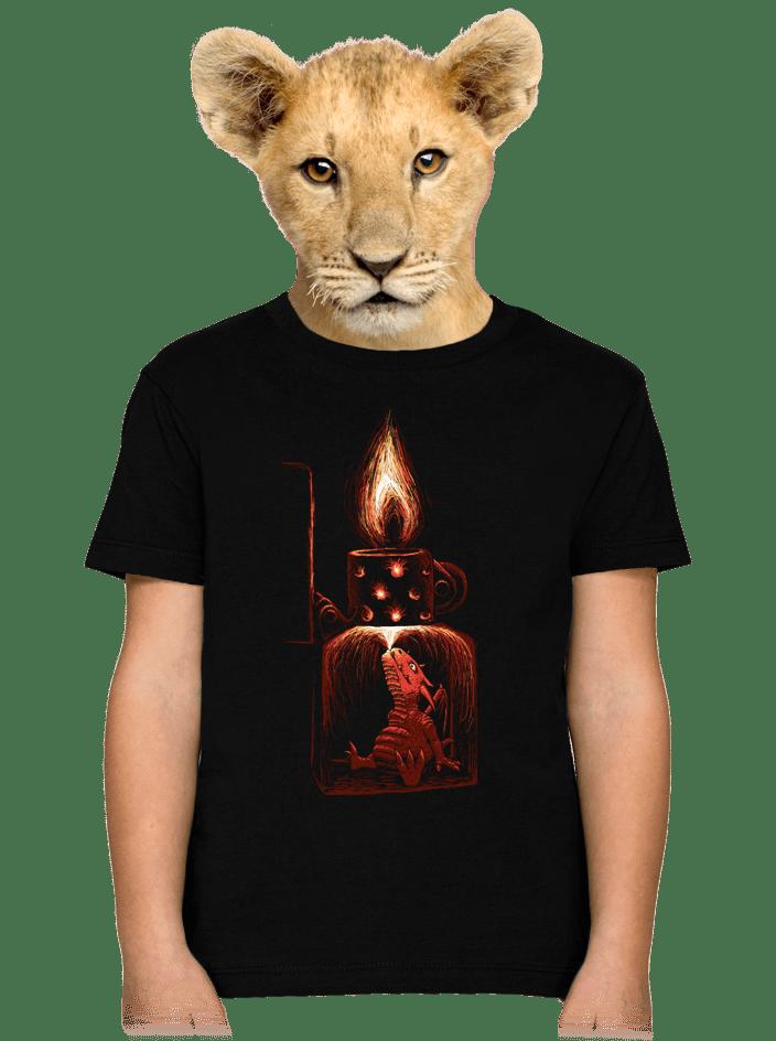Zapalovač dětské tričko