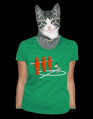 Fotbálek dámské tričko