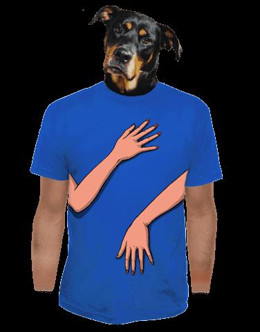 Ručky šmátralky pánské tričko