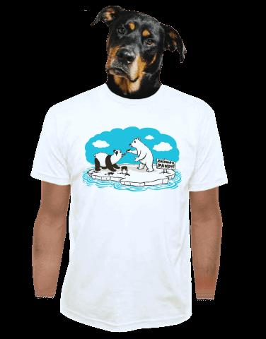 Lední medvědi pánské tričko
