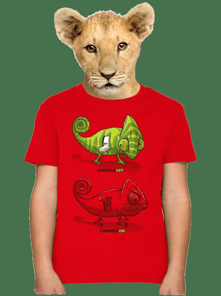 Zapnuto vypnuto dětské tričko