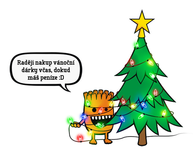 Basty už se taky připravuje na Vánoce
