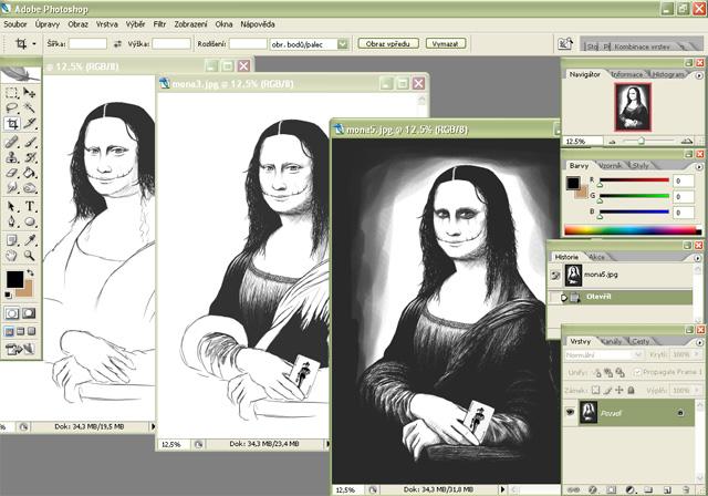 Tutorial - práce v Photoshopu