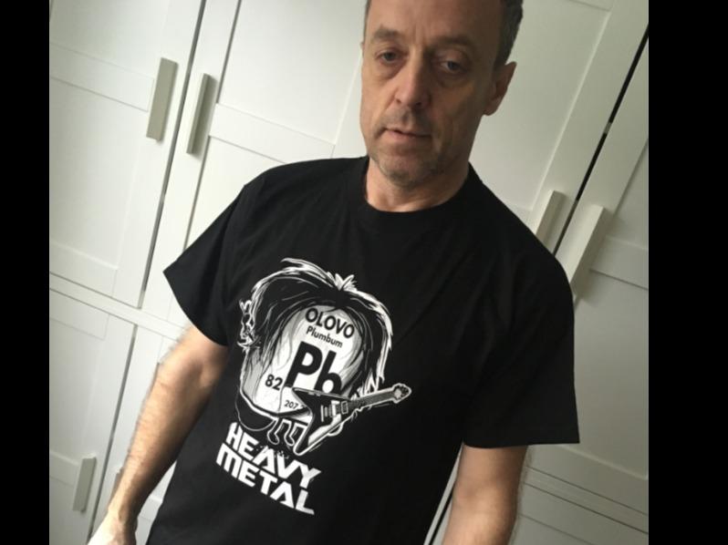 50a39660eb4 Heavy Metal pánské tričko - starý střih