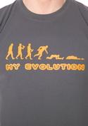 náhled - My evolution pánské tričko