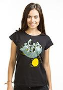 náhled - Nevrlý kocour dámské tričko