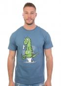 náhled - Rexíkův problém modré pánské tričko - nový střih