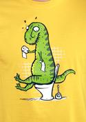 náhled - Rexíkův problém žluté pánské tričko