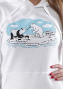 náhled - Lední medvědi dámská mikina