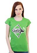 náhled - Shííp zelené dámské tričko