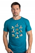náhled - Pandí jóga pánské tričko