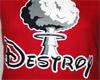 náhled - Destroy dámské tričko