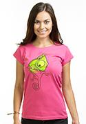 náhled - Zmizík fuchsiové dámské tričko