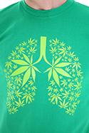 náhled - Ganja plíce pánské tričko