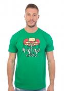 náhled - Červotoč zelené pánské tričko