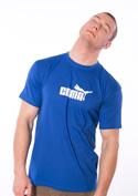 náhled - Coma královsky modré pánské tričko