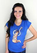 náhled - Piercing dámské tričko