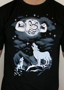 náhled - Vlčí árie pánské tričko