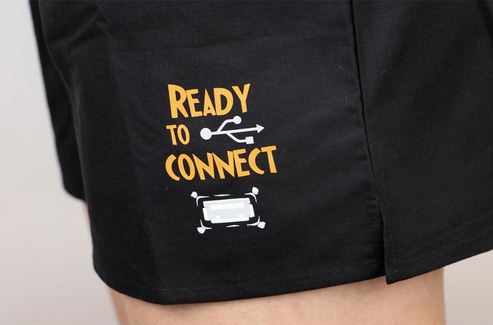 ... náhled - USB připojení - černé dámské trenky ... bf4a3dfada