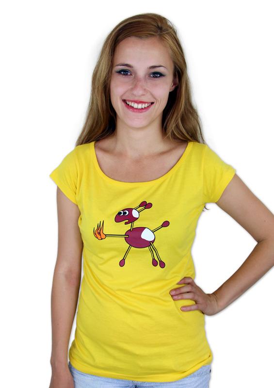 náhled - Kaštany dámské tričko