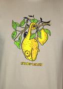 náhled - Citrón světle hnědé pánské tričko