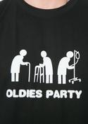náhled - Oldies party černé pánské tričko